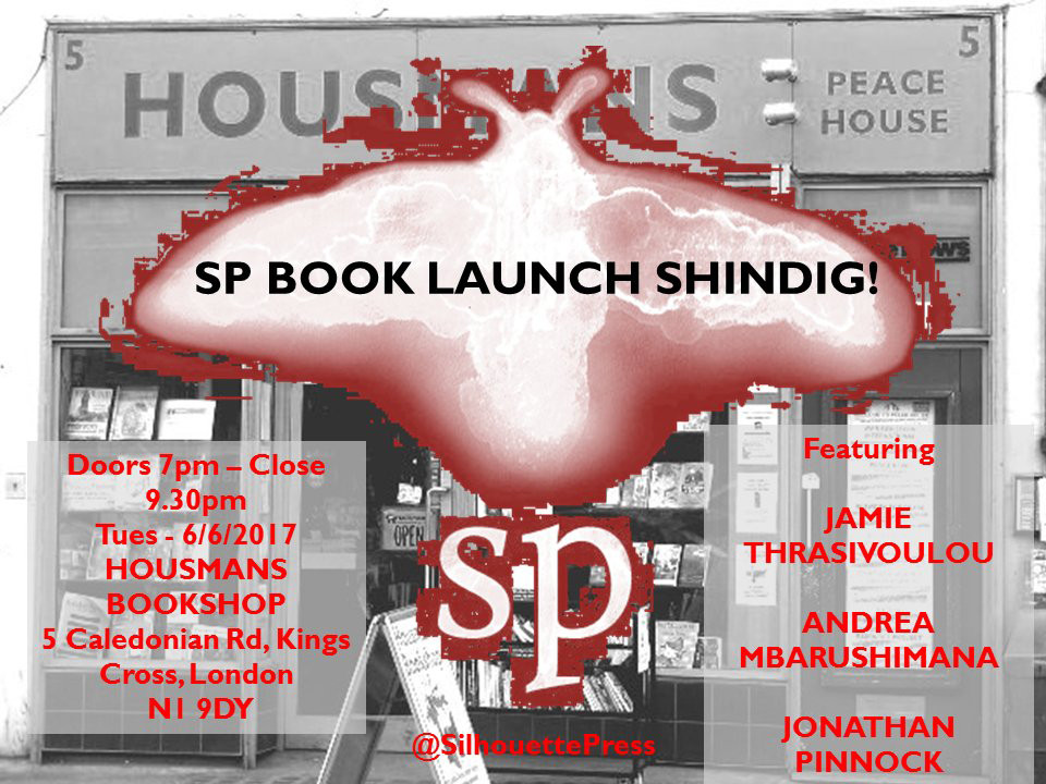 The London launch of my book