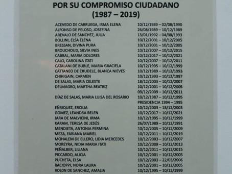 PARTICIPACION POLITICA DE LAS MUJERES EN MERCEDES