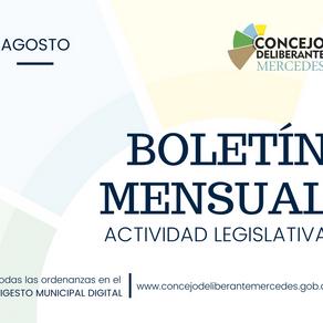 BOLETÍN DE ACTIVIDAD LEGISLATIVA