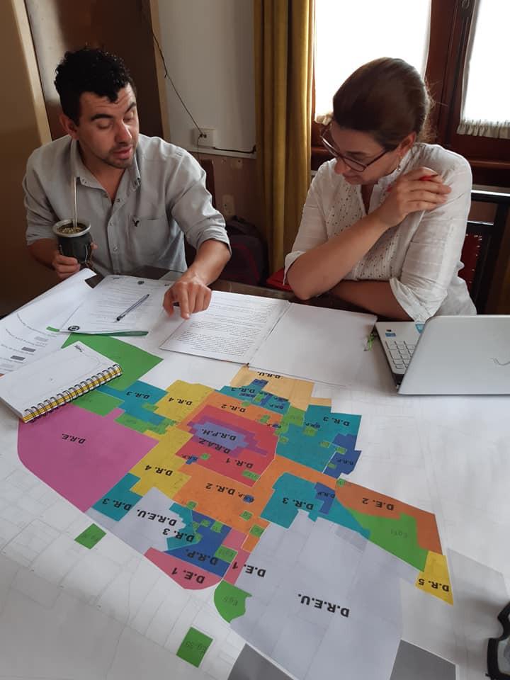 Reunión con el Arq. Matías Schiro, Director de Obras Privadas Municipal