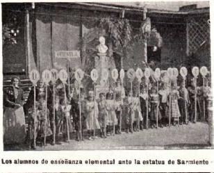 Busto de Sarmiento