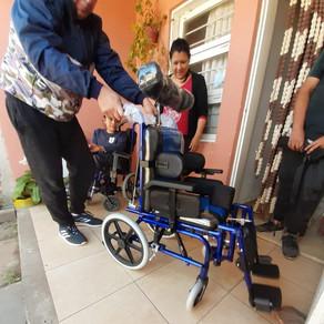 Nueva silla de ruedas para Valen