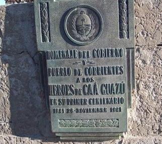 Monolito de Caá Guazú