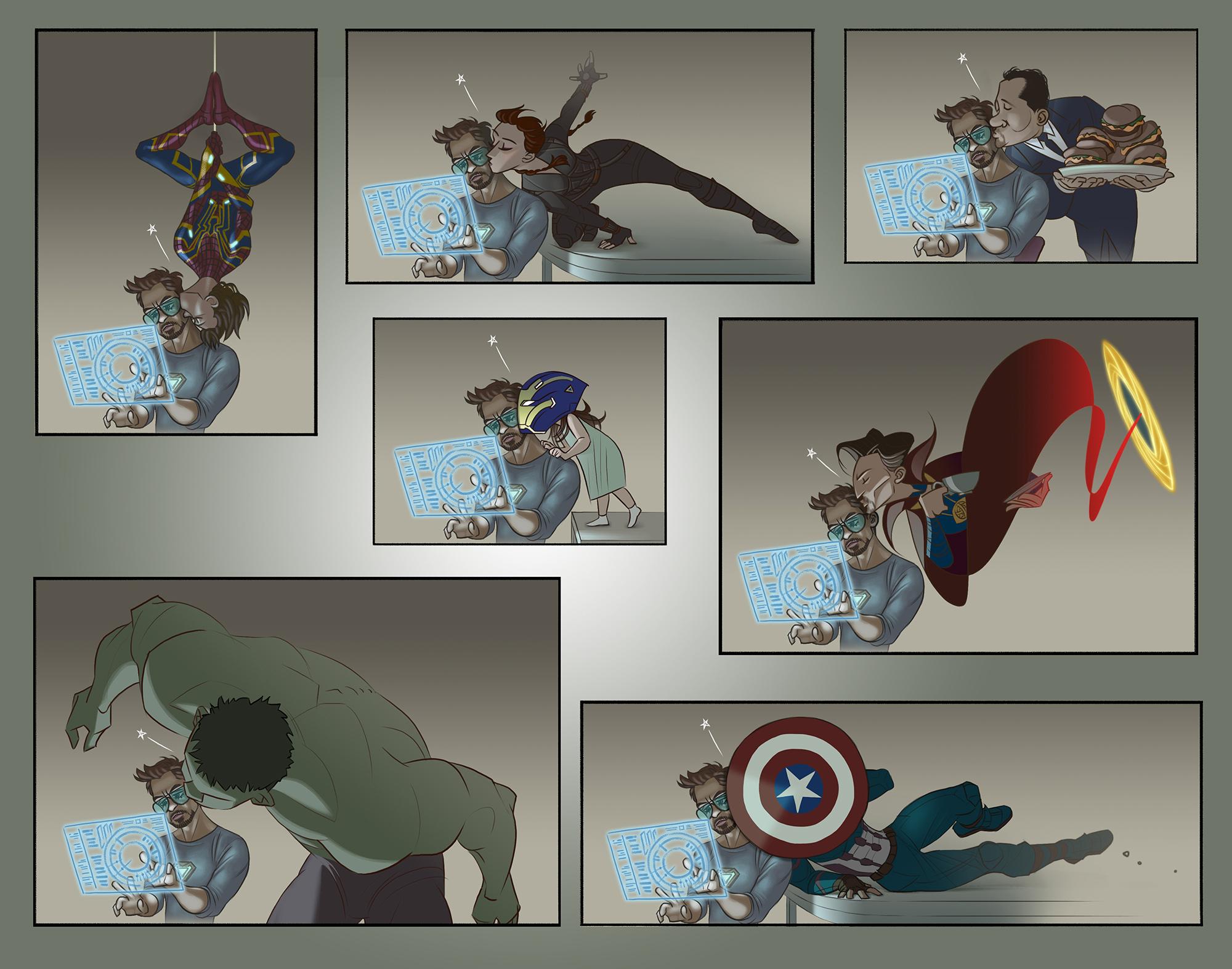 Everyone Loves Tony Stark