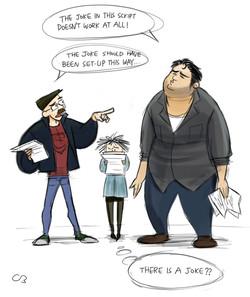 Caricature of Friends 11