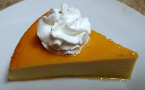 Cream Cheese or Coconut Custard (Flan)