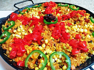 "Pulled Pork ""Carnitas"" Mexican Paella"