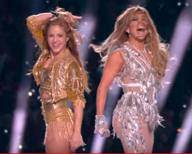 Shakira i JLo super bowl