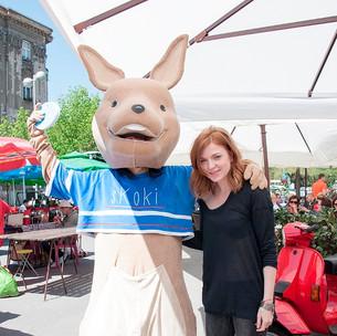 Gerila event na ulici za Erste bank osiguranje