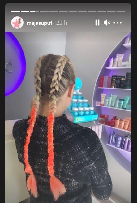 maja šuput nova frizura
