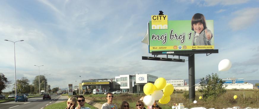 mini event uz billboard, City Centar One