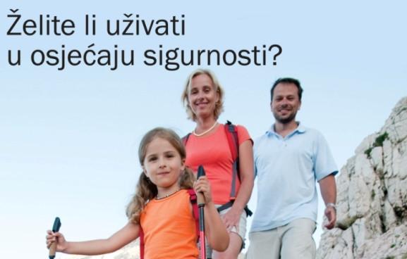 letak, Erste bank osiguranje
