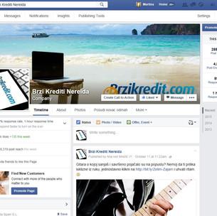 Facebook marketing za Ferratum Bank