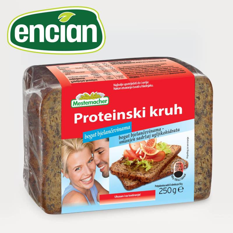 encian proteinski kruh