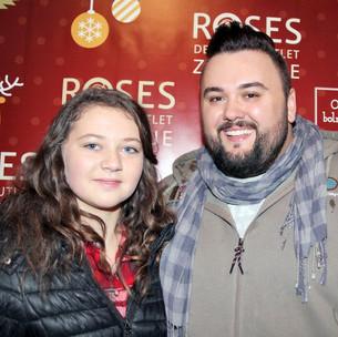 poznati u humanitarnoj božićnoj akciji u Roses Outlet Centru