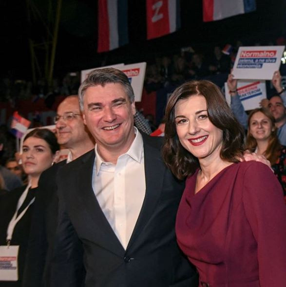 Zoran i Sanja Milanović