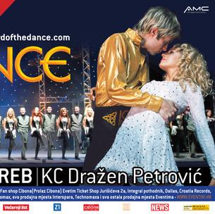 komunikacija s medijima, koncert Lord of the Dance u Ciboni
