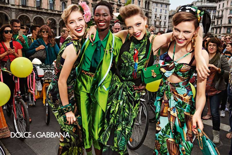 Dolce and Gabbana women spring