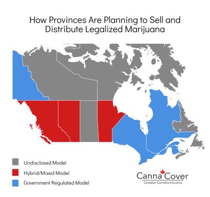 Marijuana Distribution by Province