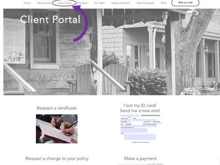 *NEW* Client Portal