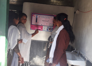 EFFECTIVENESS OF USER-FRIENDLY TOILETS AND PAD VENDING MACHINES FOR DIGNIFIED MENSTRUATION