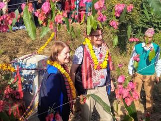 H.E. ambassadors of the EU delegation Veronica Cody and of Finland Pertti Anttinen visit RVWRMP