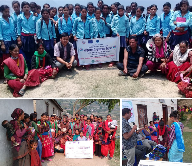 RVWRMP Menstrual Hygiene Day activities in Bajura
