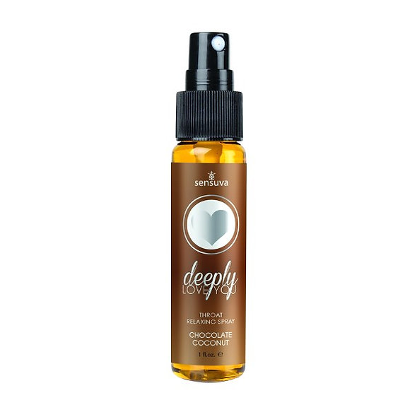 Deep Love Throat Relaxing Spray-Chocolate Coconut
