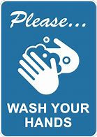 Washing your hands!
