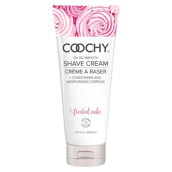 COOCHY Shave Cream-Frosted Cake