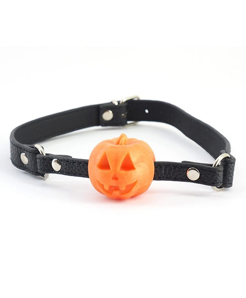 Halloween Pumpkin Ball Gag