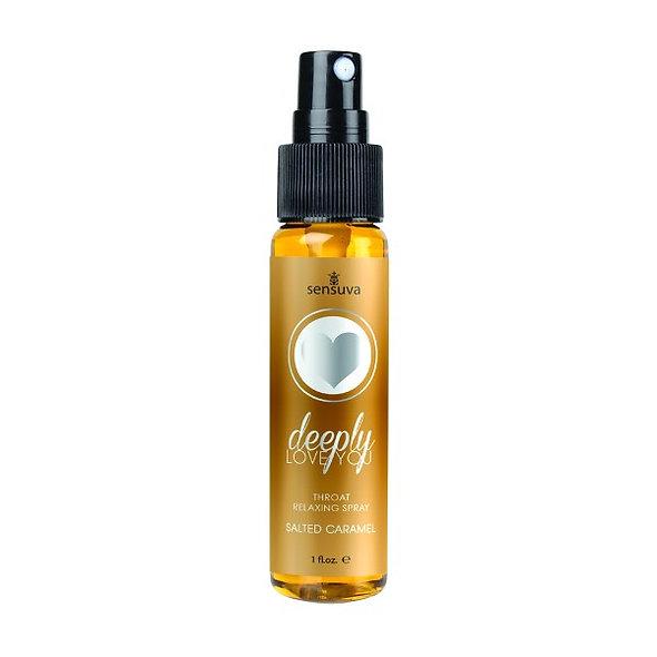 Deep Love Throat Relaxing Spray-Salted Carmel