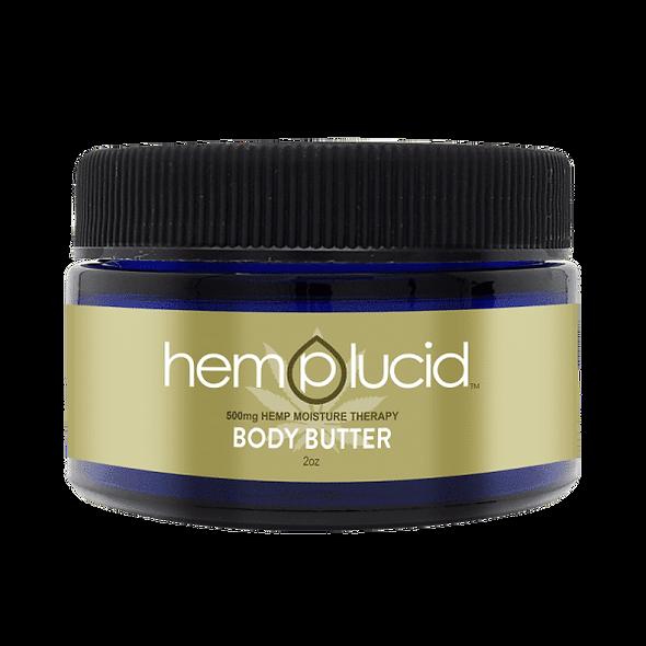 Hemplucid CBD Body Butter Lotion