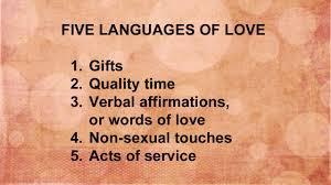5 Love Languages!