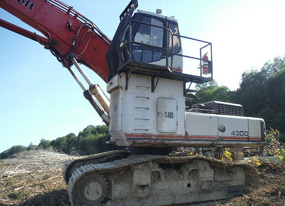 1Forest handling excavator '1998
