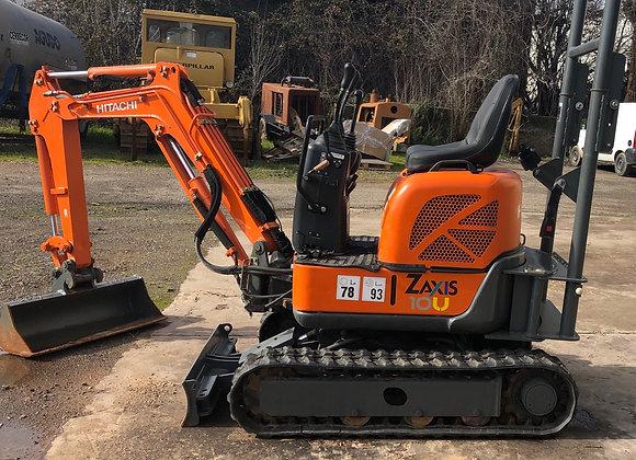 "1Hitachi ZX10-2U ""2010 mini excavator"