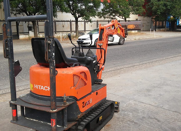 1Hitachi Zx8-2 '2009 mini excavator