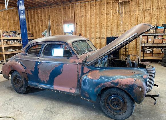 1941 Chevy Master Deluxe 2 door