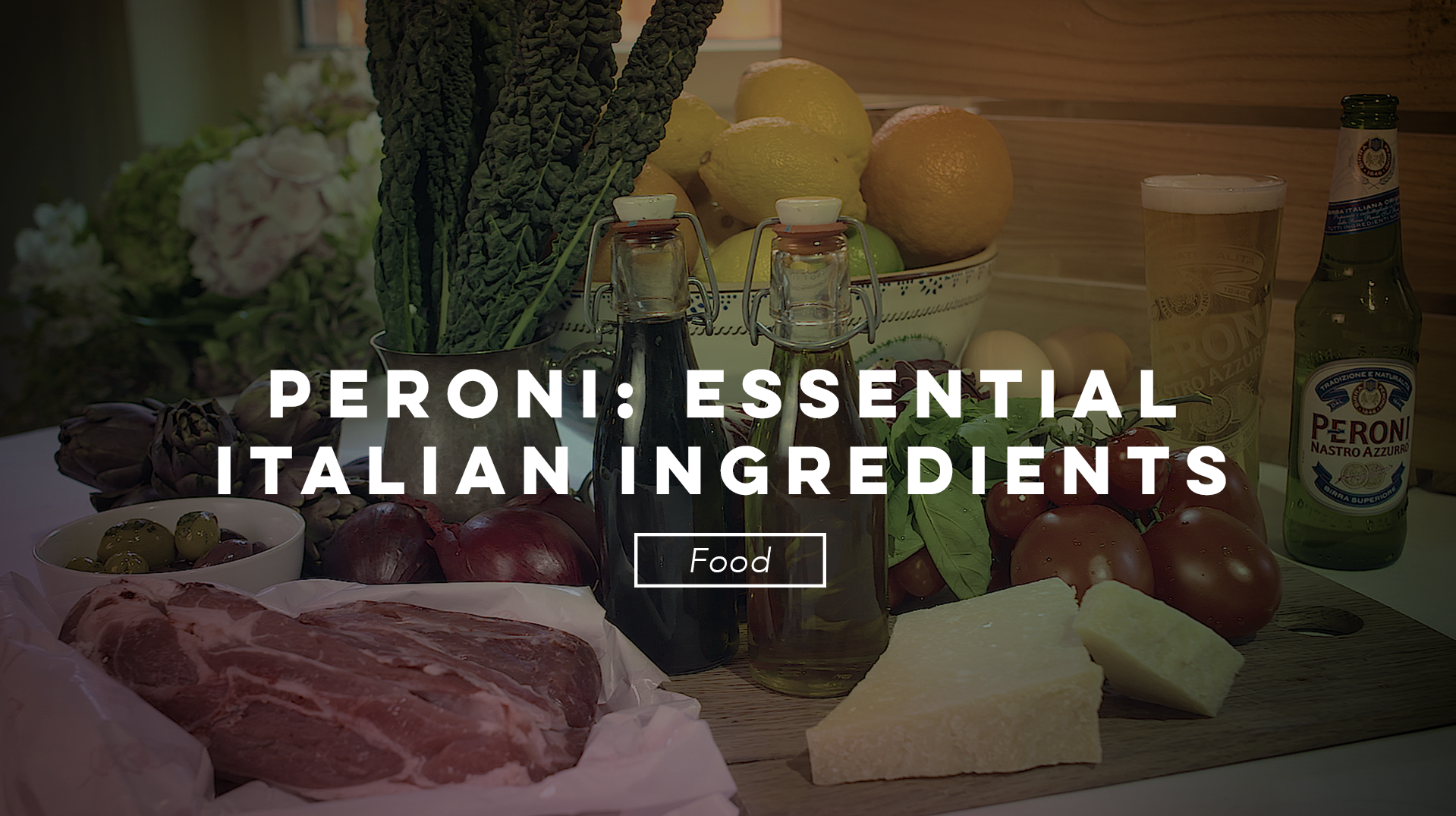 Luke Duggan TV Video Production Essential Italian Ingredients