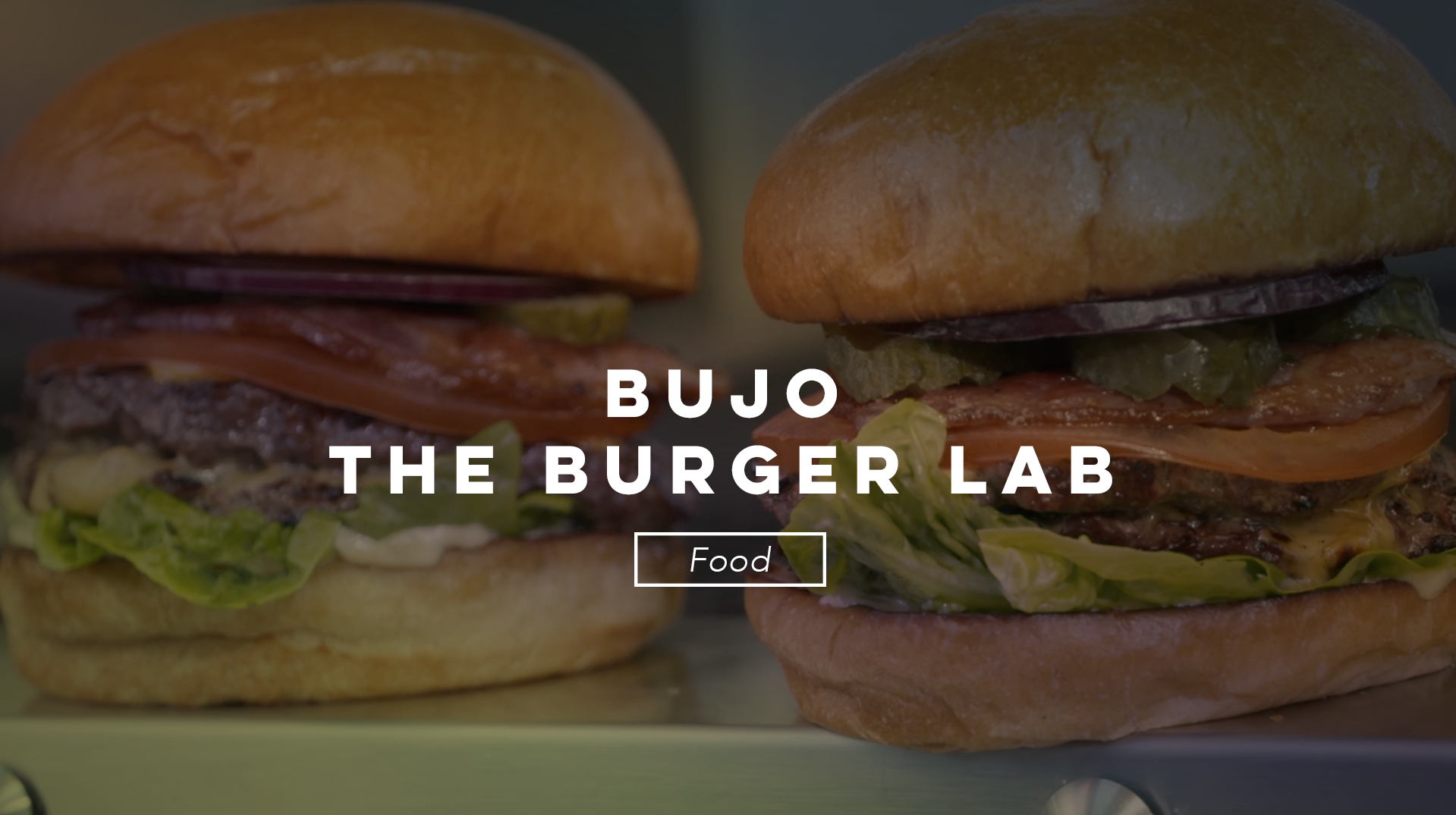 Luke Duggan TV Video Production BUJO the Burger Lab