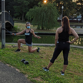 Outdoor Personal Training North Side Pittsburgh