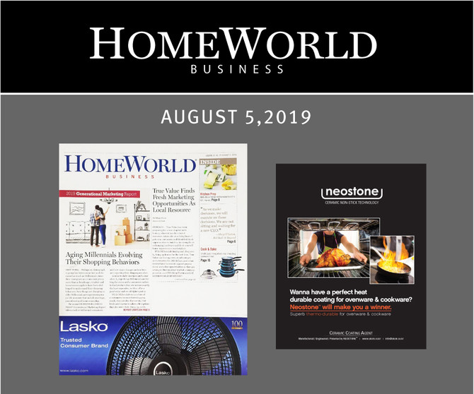 HOMEWORLD business AD. AUGUST 2019