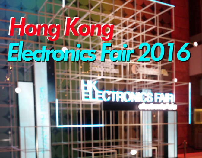 SAMKWANG CANDUCT HongKong Electronics Fair 2016