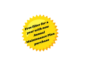 Free filters for a year with new annual