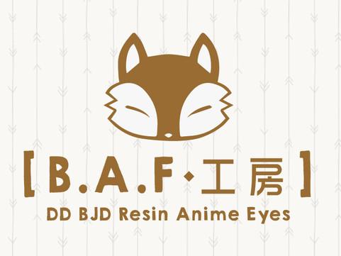 B.A.F 工房 新Web啟用啦!