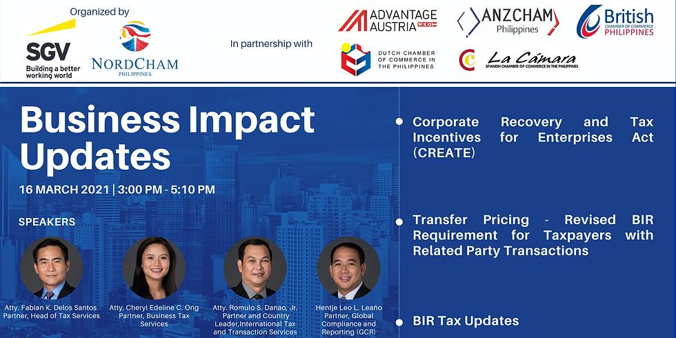 Business Impact Updates