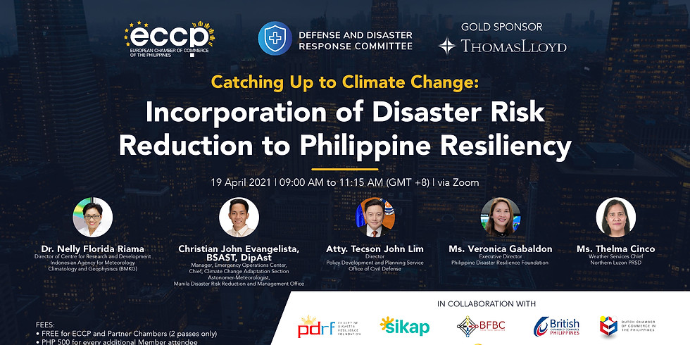Catching Up to Climate Change: Incorporation of Disaster Risk Reduction to Philippine Resiliency