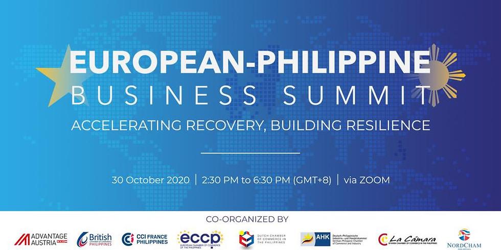2020 European-Philippine Business Summit (EPBS)