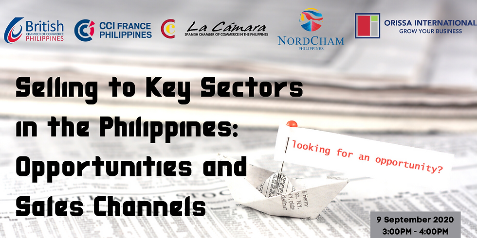 Selling to Key Sectors in the Philippines: Opportunities and Sales Channels