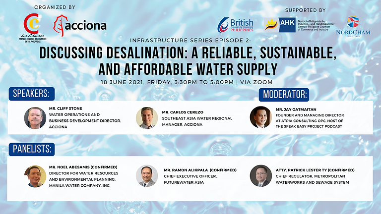 Discussing Desalination: A Reliable, Sustainable, and Affordable Water Supply